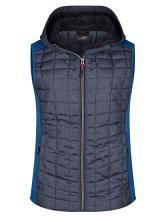 Ladies' Knitted Hybrid Vest